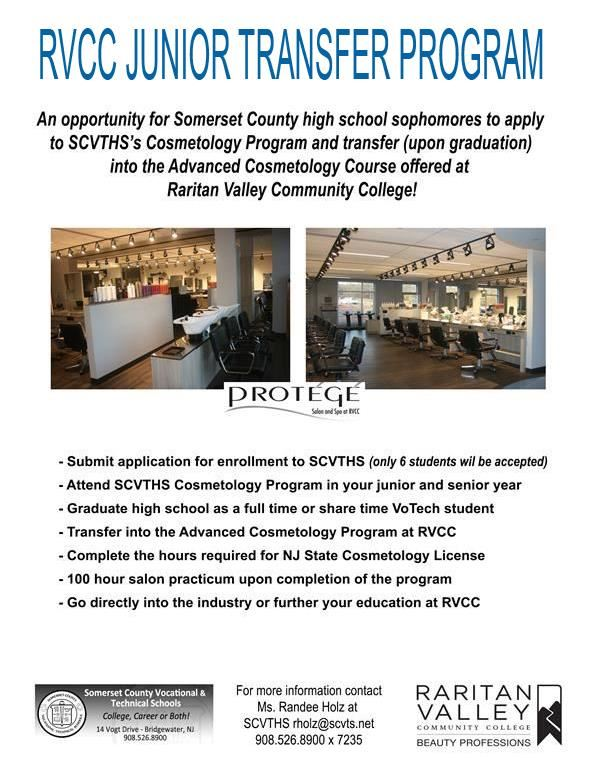 RVCC Junior Transfer Program Flyer