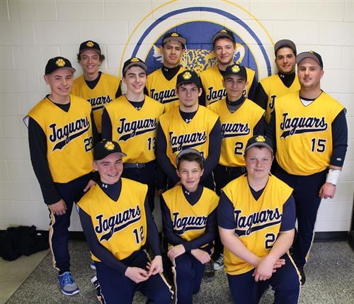 2014 SCVTHS Varsity Baseball Team