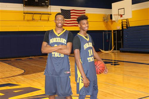 Yakim Jean-Philippe and Elijah Bowers