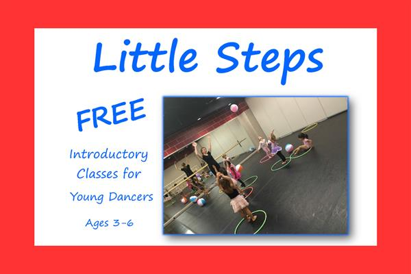 Introductory Classes for Young Dancers ages 3-6 Starting Tuesday October 1st!