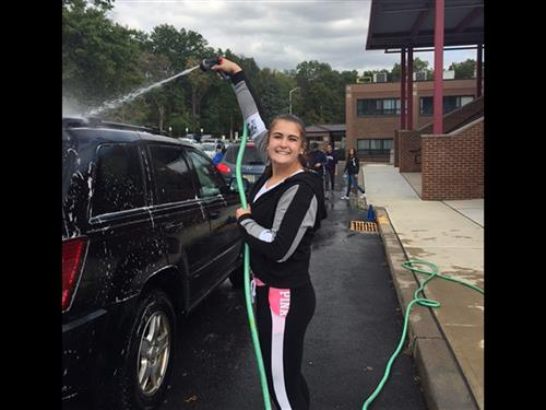 ROTARY AND HOSA CLUB STUDENTS RAISE MONEY FOR HURRICANE VICTIMS