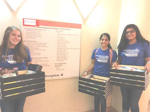 Ritu Peddinti, Michelle Masiello and Mira Amin have been raising awareness for CTF.