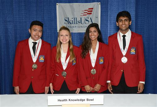 SCVTHS STUDENTS WIN NATIONAL MEDALS AND RECOGNITION