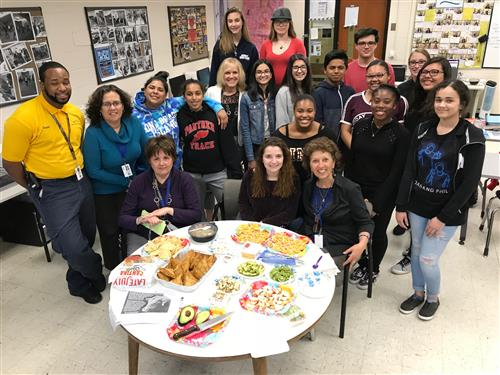 SCVTHS HEALTH OCCUPATIONS STUDENTS EXPLORE BENEFITS OF A HEALTHY DIET