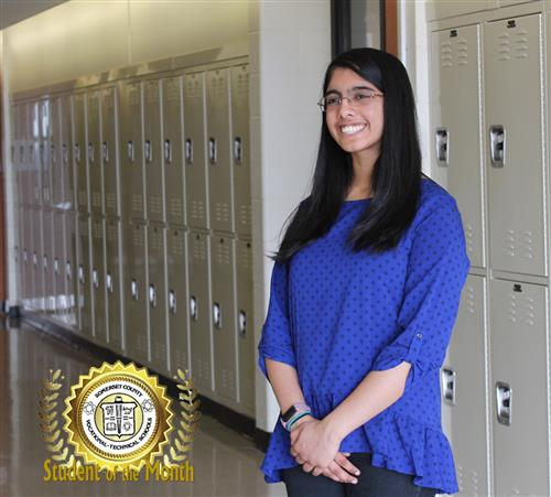 VEDA KOTA IS STUDENT OF THE MONTH FOR JANUARY 2018