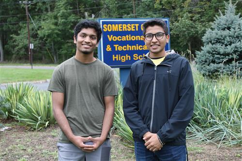 Two SCVTHS student winners of the 2019 National Merit Scholarship