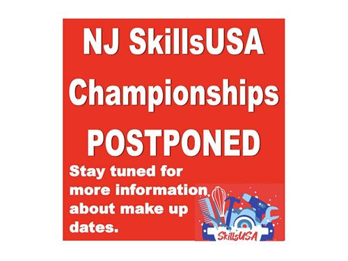 Until further notice, NJ SkillsUSA State Competitions are postponed.