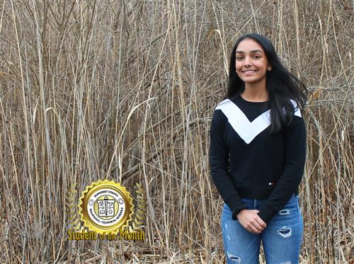 PARTHAVI PATEL NAMED SCVTHS STUDENT OF THE MONTH FOR JANUARY 2020