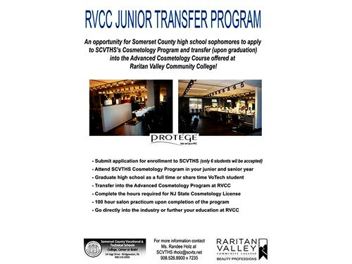 ENROLLING NOW FOR THE RVCC JUNIOR COSMETOLOGY PROGRAM