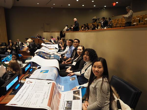 SCVTHS students at United Nations
