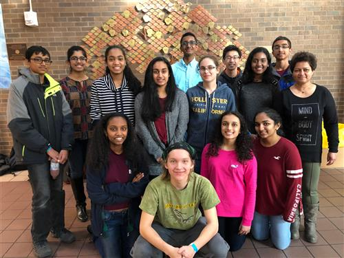 SCVTHS STUDENTS COMPETE IN REGIONAL TOURNAMENT FOR NJ SCIENCE OLYMPIAD