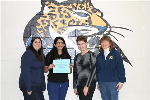 Veda Kota will participate in the Rutgers Oncology Olympiad