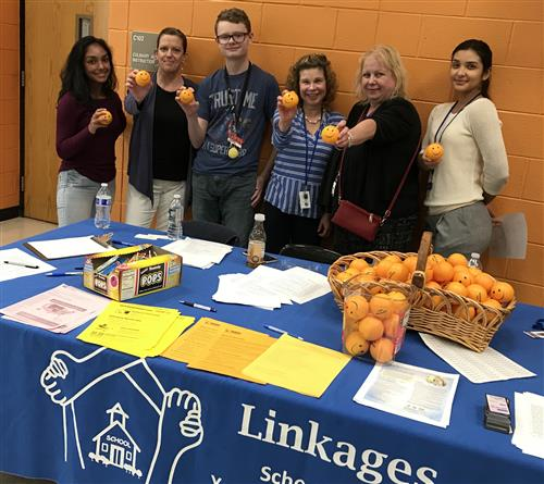 The Linkages Department held a suicide awareness event to inform students of their available service