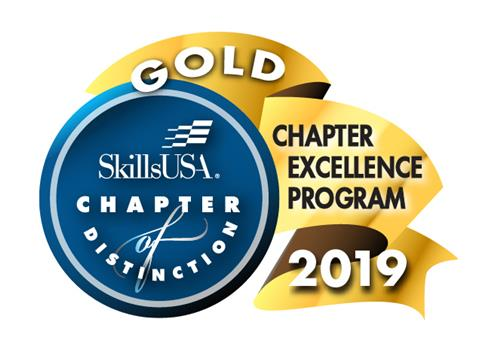 Gold Chapter of Excellence Program 2019 Logo