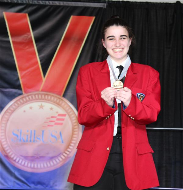 SCVTHS STUDENTS WIN GOLD AT 2018 NJ SkillsUSA CHAMPIONSHIPS